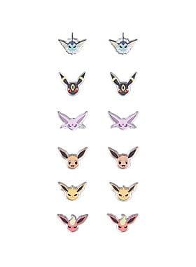 Pokémon Evee Evolution Earrings Set