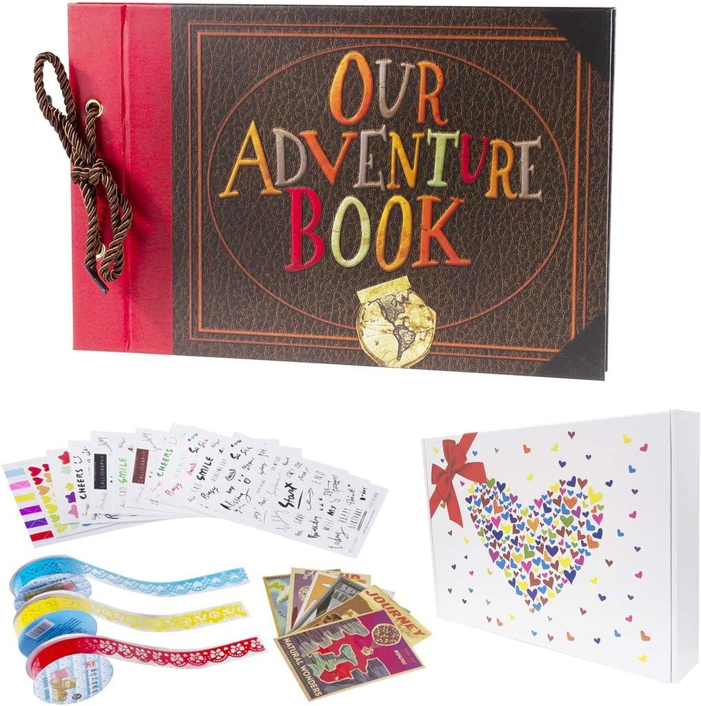 Pulaisen Our Adventure Book Scrapbooking Set