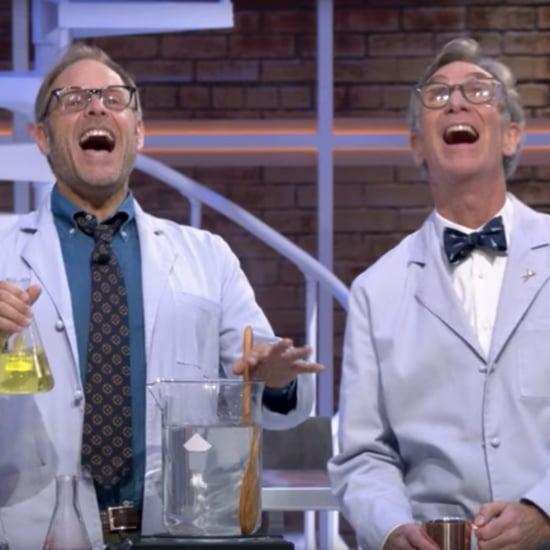 Alton Brown and Bill Nye on Netflix