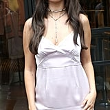 Selena Gomez Coach Slip Dress September 2018