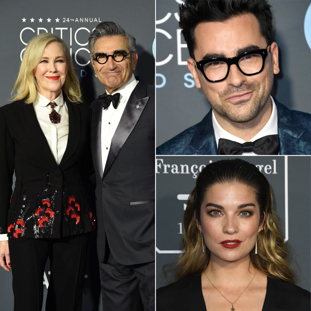 Schitt's Creek Cast at the 2019 Critics' Choice Awards