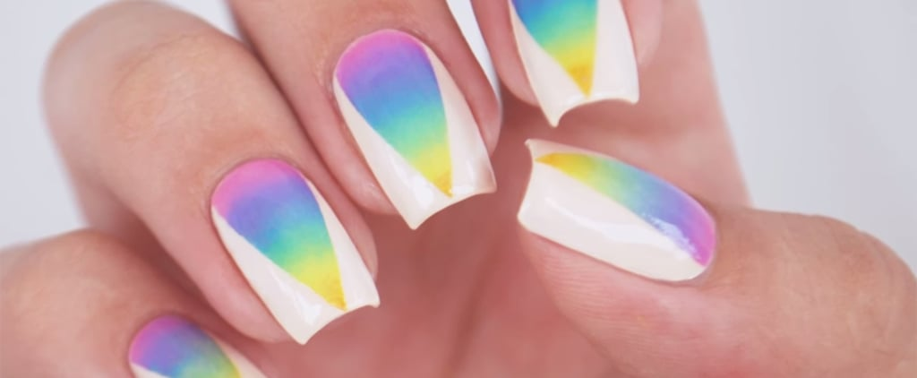 Rainbow Nails Get an Elevated Update With This Ombré Design