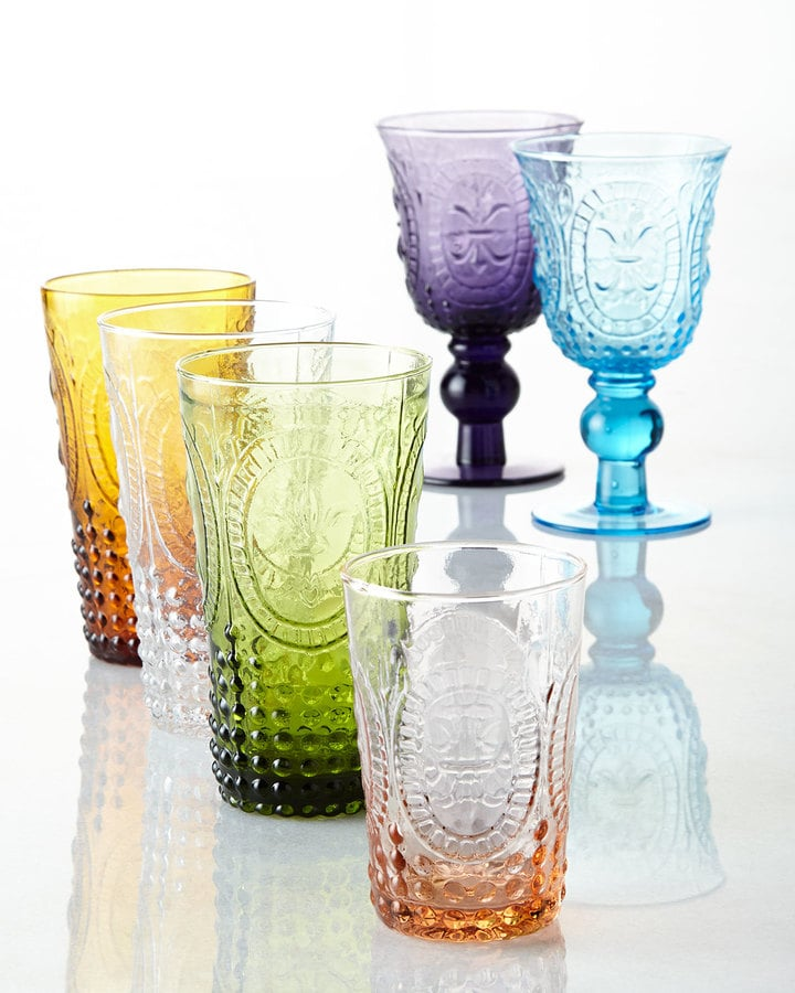 Glass tumbler set of 4 ($32)