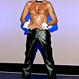 "Bernie Barker, 66, ""The World's Oldest Male Stripper,"" performed with the Chippendales in 2006."