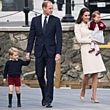 The British Royal Family Leaving Canada Pictures 2016