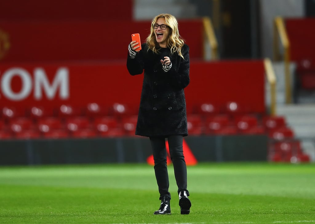 Julia Roberts's Kids Playing Soccer in England