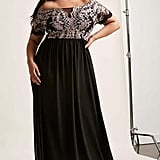 Forever 21 Off-the-Shoulder Gown