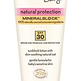 Aveeno Baby Natural Protection SPF 30 Lotion ($11)