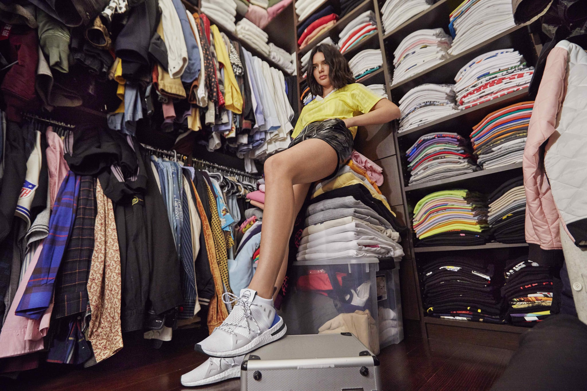 Kendall Jenner Adidas Arkyn Sneakers