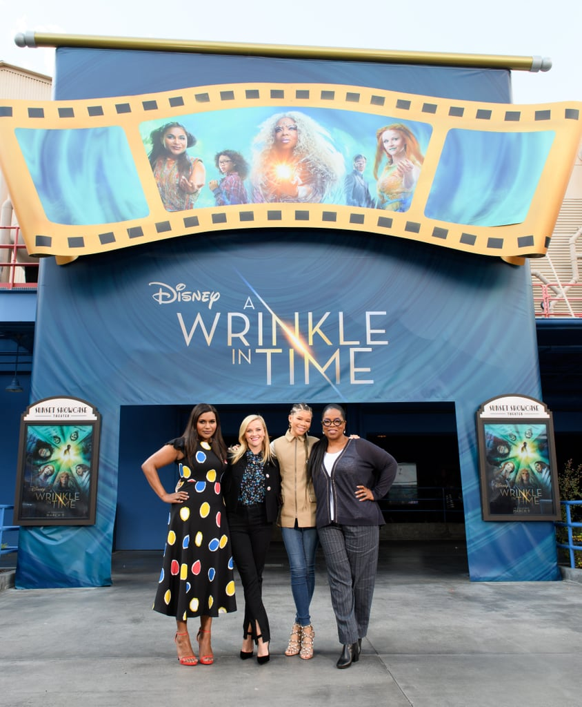 A Wrinkle in Time Cast at Disneyland 2018