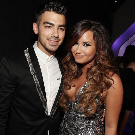 Joe Jonas Sings Happy Birthday to Demi Lovato August 2016