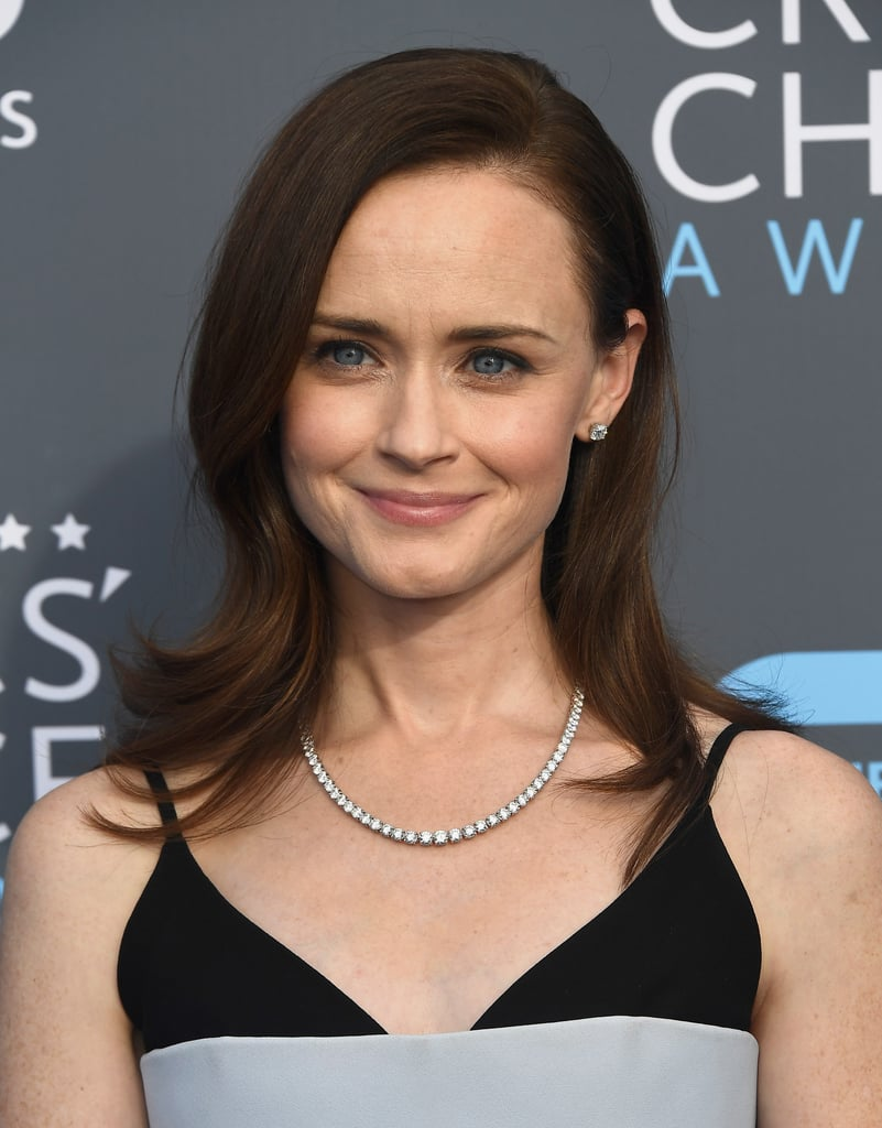 Good Guys Auto >> Alexis Bledel | Hair and Makeup at Critics' Choice Awards 2018 | Red Carpet | POPSUGAR Beauty ...