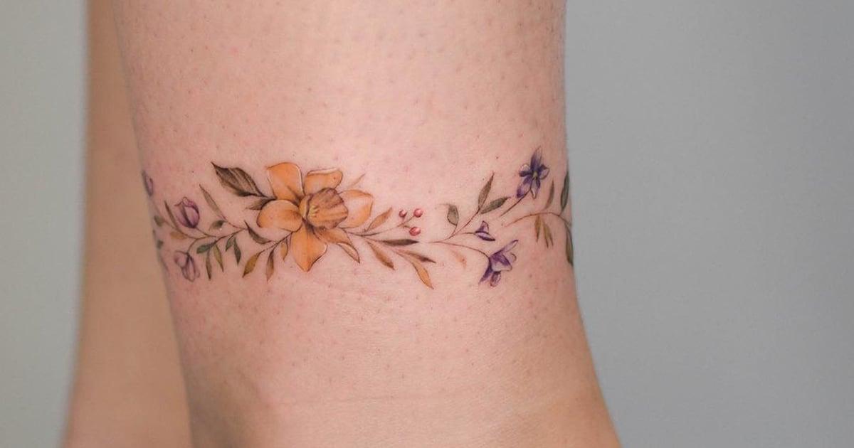 Birth Flower Tattoos: POPSUGAR Love & Sex