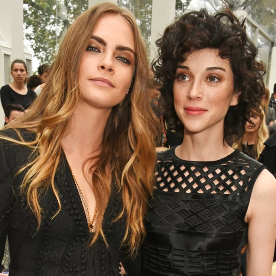 Cara Delevingne and St. Vincent at London Fashion Week