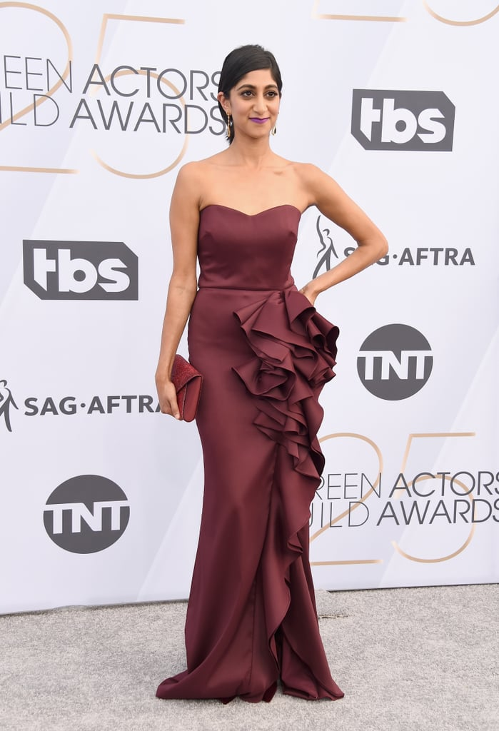 Sunita Mani at the 2019 SAG Awards