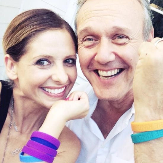 Sarah Michelle Gellar and Anthony Stewart Head Buffy Reunion