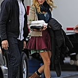 Blake Lively got to work on Gossip Girl.