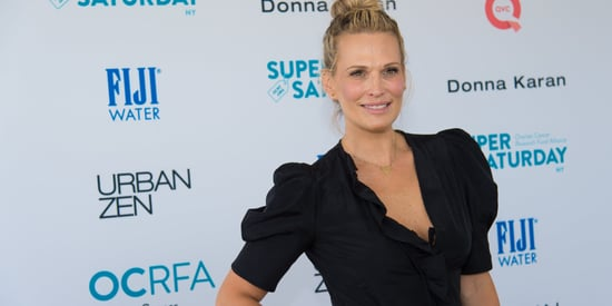 Molly Sims Dishes On New York Fashion Week, Parenting And More