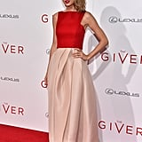 Taylor Swift stepped out for the NYC premiere of The Giver on Monday.