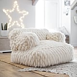 Winter Fox Faux-Fur Eco-Lounger