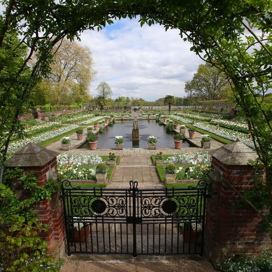 Princess Diana's White Garden