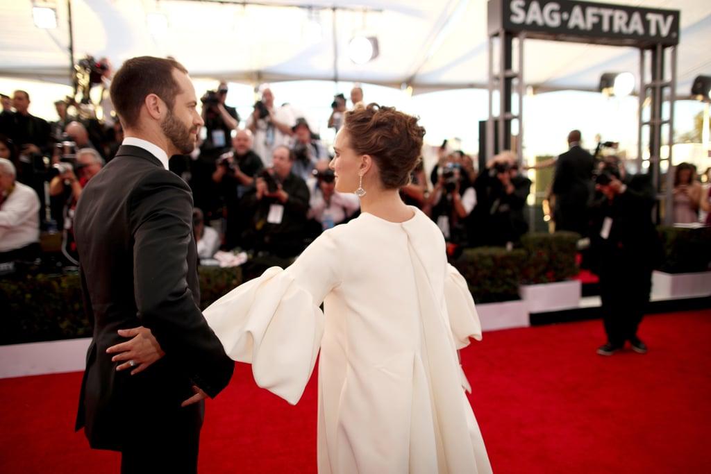 Natalie Portman and Benjamin Millepied, 2017