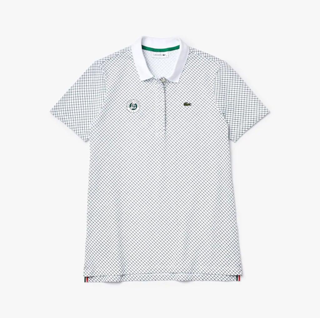 Lacoste Women's Lacoste SPORT Roland Garros Print Cotton Polo Shirt