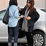 Penelope Cruz Fits In One More Pre-Holiday Shopping Trip!
