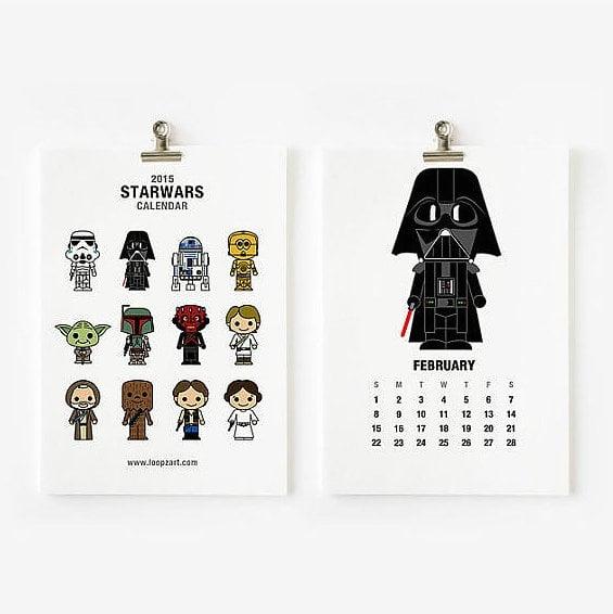 Star Wars Calendar ($12-$20)