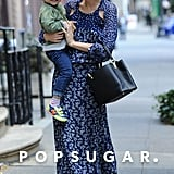 Miranda Kerr Smothers Her Smiley Guy, Flynn Bloom, With Kisses