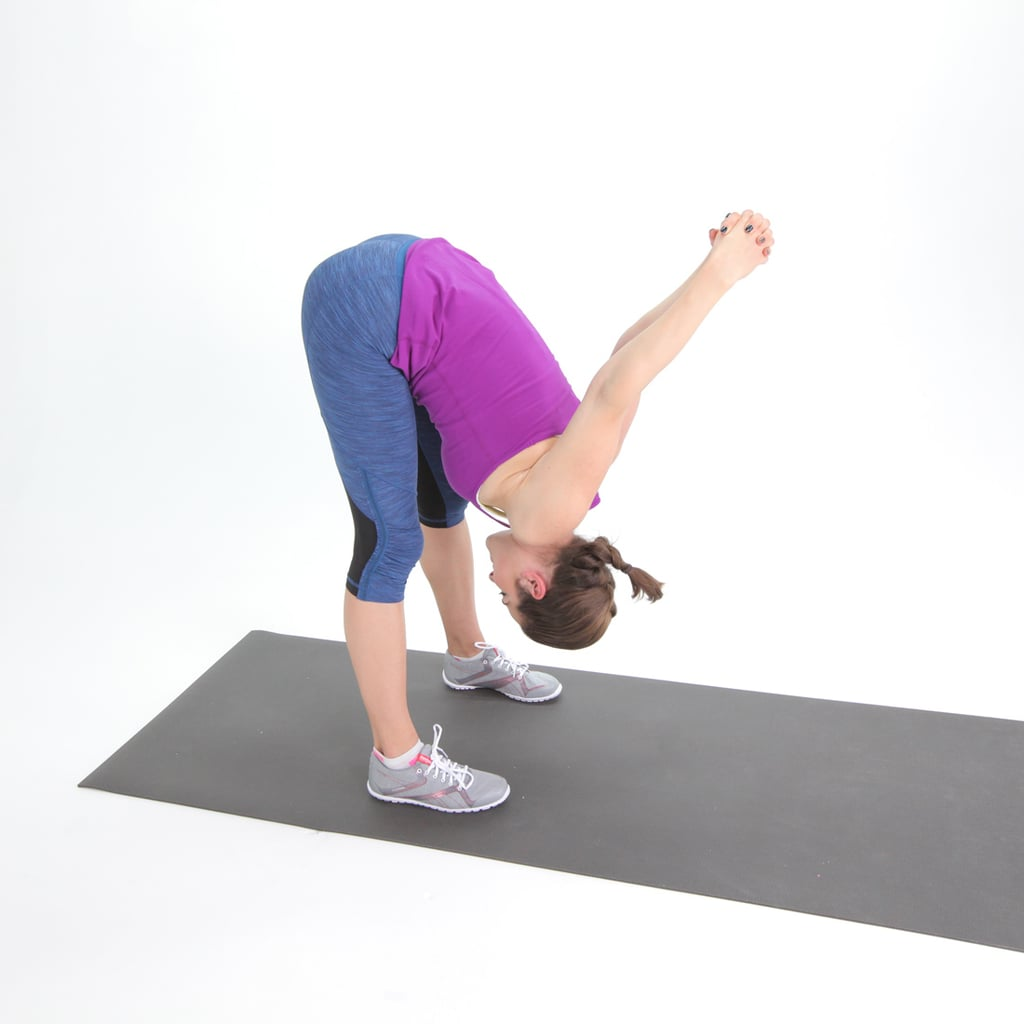 Hamstrings: Tipover Tuck Stretch