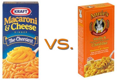 Comparison of Popular Processed Foods With Their Health Food Counterparts