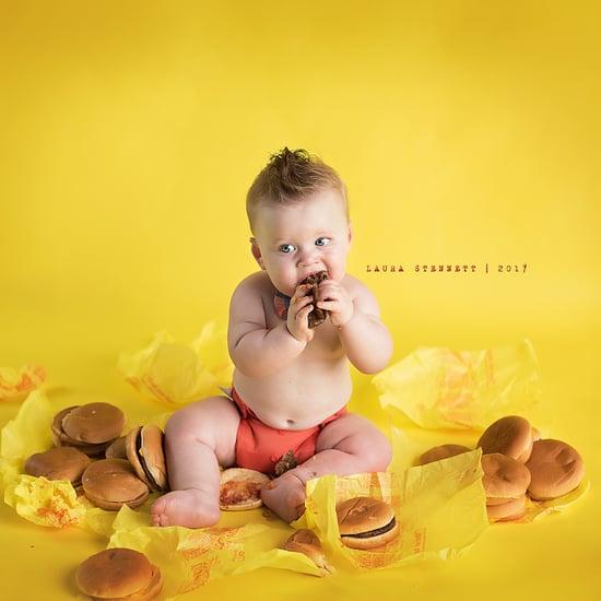 Baby's McDonalds Cake Smash