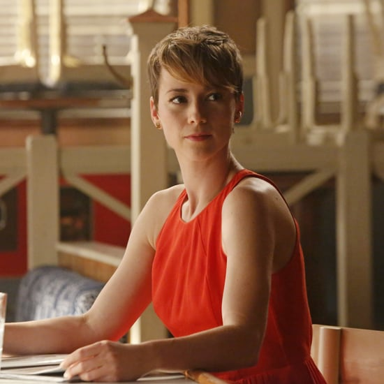 Revenge Star Karine Vanasse Interview (Video)