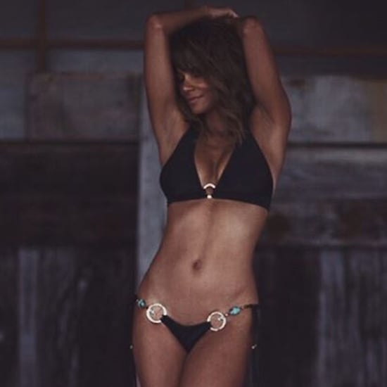 Halle Berry Bikini Instagram Jan. 2018