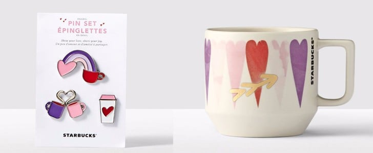 Starbucks's Valentine's Day Collection Will Make Your Heart Burst With Happiness
