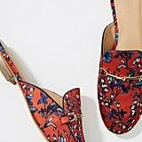 LOFT Floral Loafer Slides