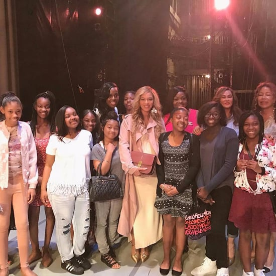 Beyonce Surprises Alvin Ailey Dancers With Mom Tina