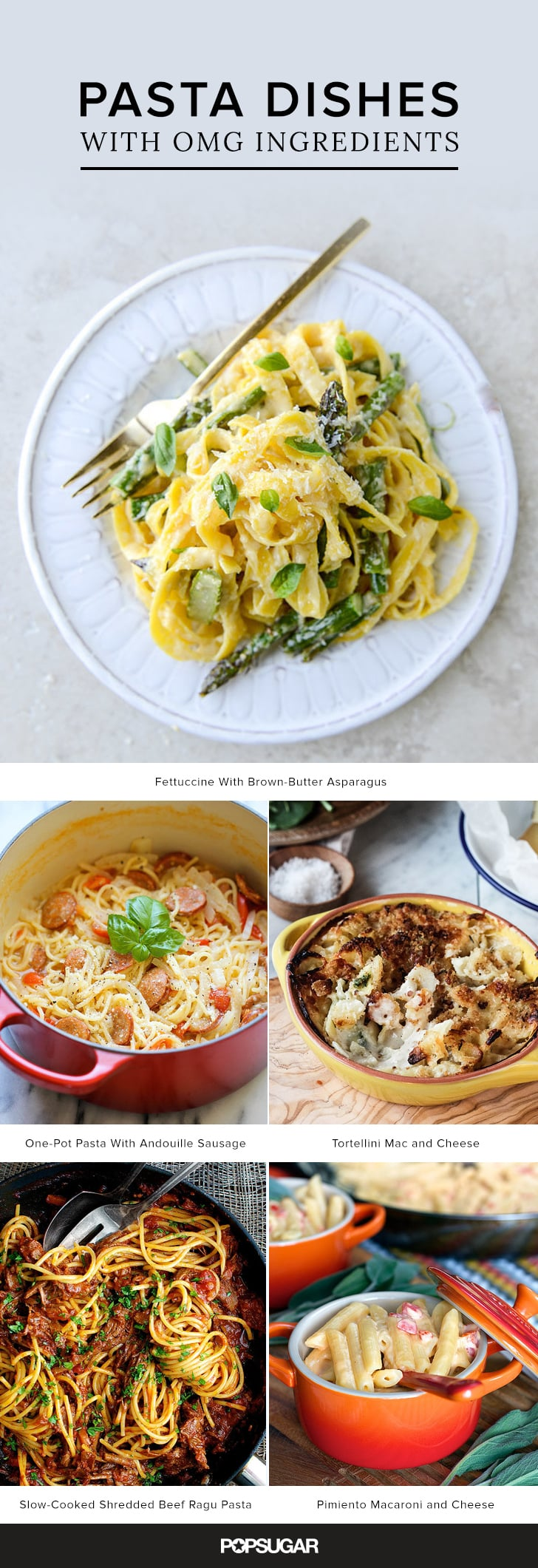 20+ Pasta Dishes With OMG Ingredients