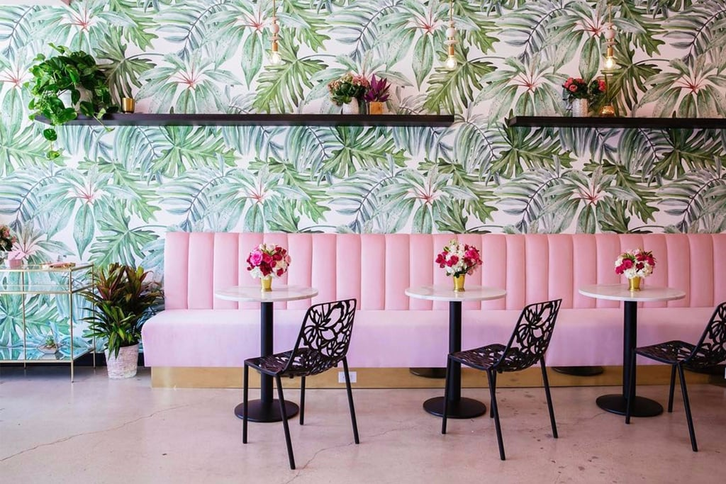 Pink Holy Matcha Cafe Instagrams