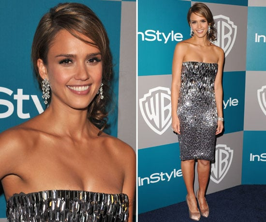 Jessica Alba at Golden Globes Afterparty 2012