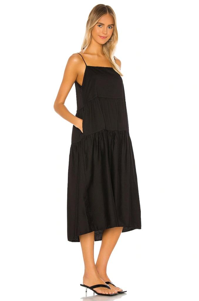 For Maxium Comfort: Enza Costa Cotton Tiered Dress