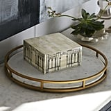 Get the Look: Gilt & Marble Serving Tray
