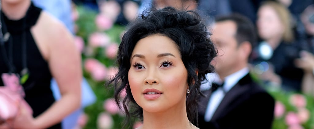 Lana Condor's Makeup and Hair at Met Gala 2019