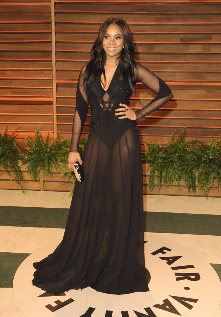 Regina Hall at the 2014 Vanity Fair Oscars Party
