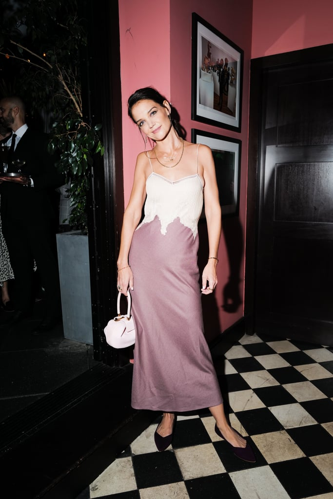 Who would've thought Rothy's would look this cool with a cocktail dress? It's the completely unexpected spin on a Gabriela Hearst slip dress we just weren't expecting — and now, can't stop thinking about.