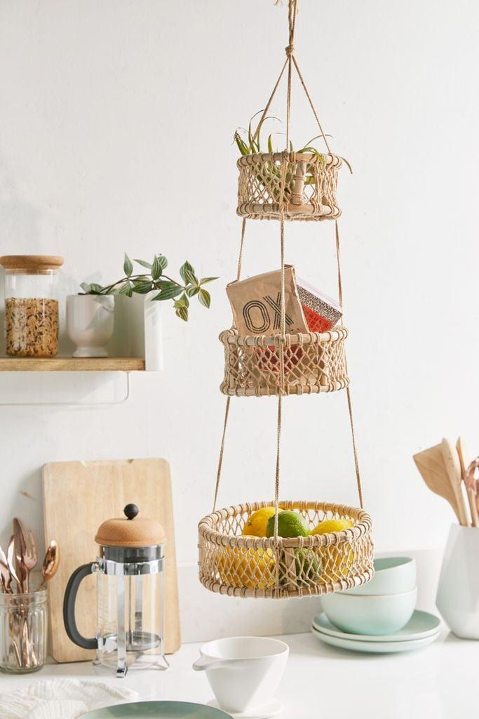 Three-Tier Hanging Basket