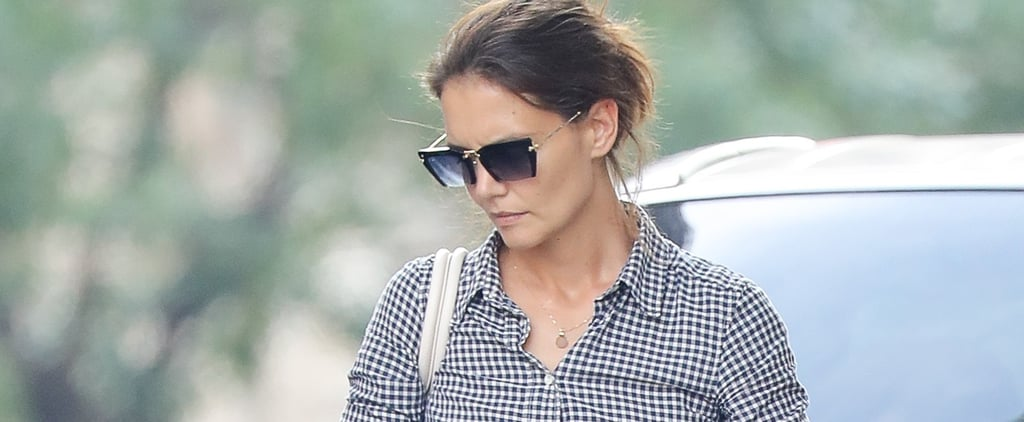 Katie Holmes's Summer Sneakers Are So Old-School Fabulous, You'll Need a Pair Too