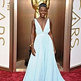 Lupita Nyong'o Wearing Prada at the 2014 Academy Awards