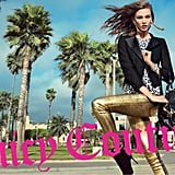 Karlie Kloss is the face of Juicy Couture's Fall 2012 campaign.